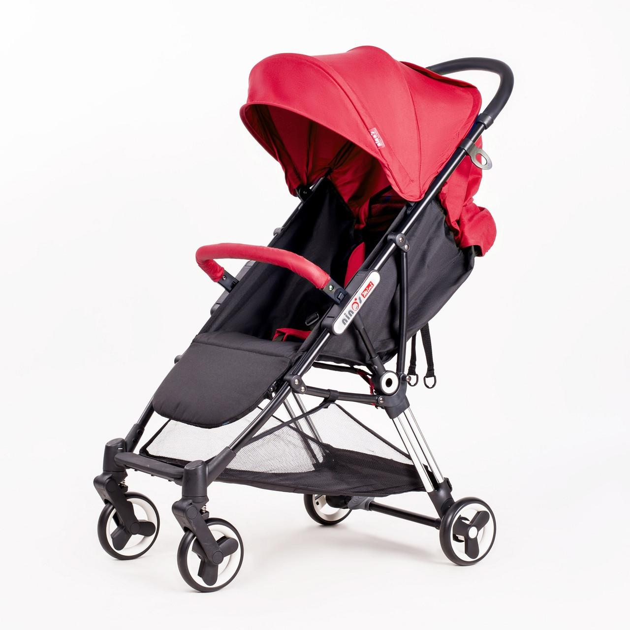 Дитяча прогулянкова коляска Ninos Mini Red 5,8 кг