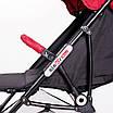 Дитяча прогулянкова коляска Ninos Mini Red 5,8 кг, фото 7