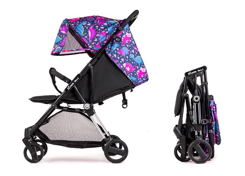 Дитяча прогулянкова коляска Ninos Mini 2 Pink Dino