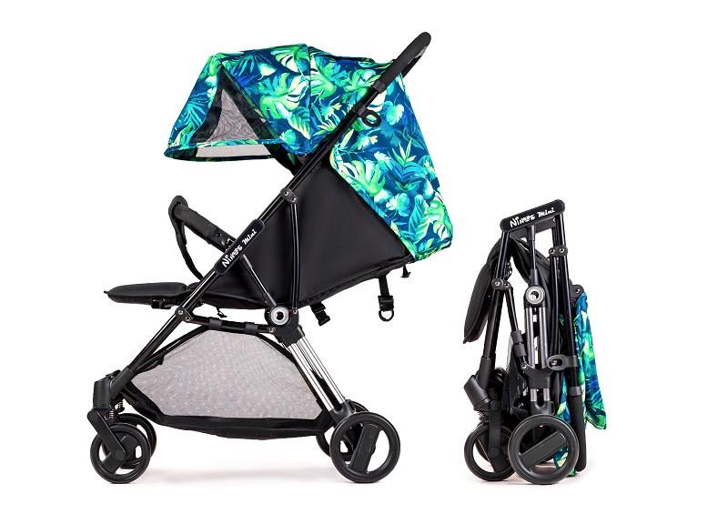 Дитяча прогулянкова коляска Ninos Mini 2 Green Jungle