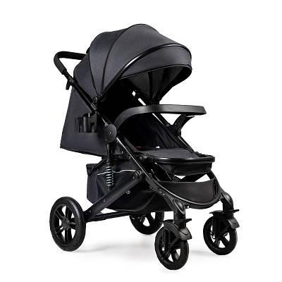 Дитяча прогулянкова коляска Ninos Uno Black / Black