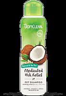 Tropiclean Oatmeal & Tea Tree - Шампунь 355 мл для собак Овес и чайное дерево