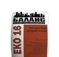 ЭКО-16 Клей жарост. для каминов и печей до 200 гр - 5 кг