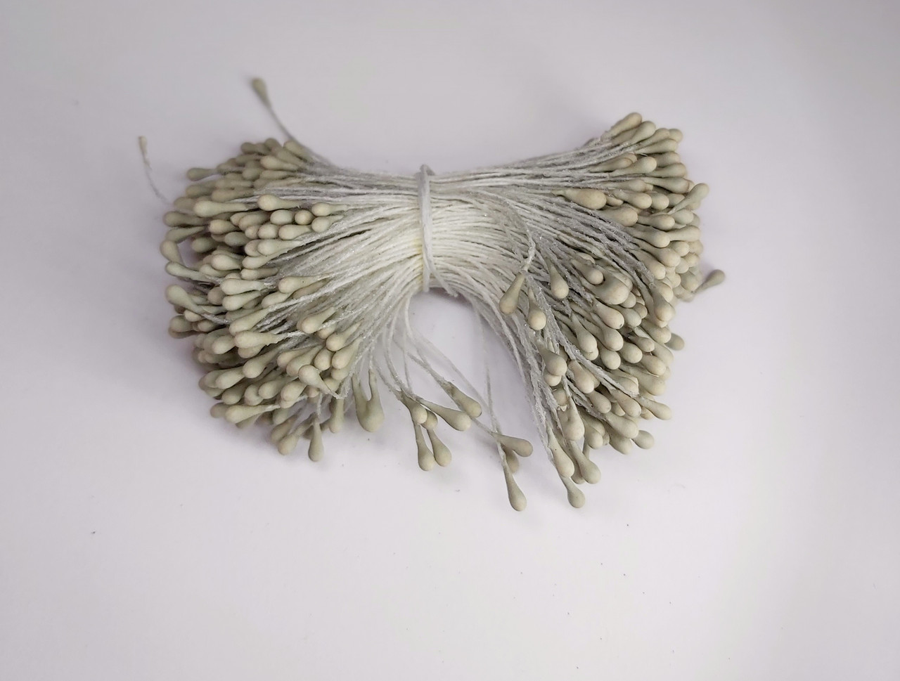 Тичинки штучні 5,5 см, 300 шт. матові ванільні