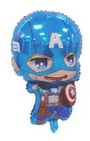 """Шар фольгированный фигурный """"Мстители Капитан Америка""""  Размер:76см*47см."""