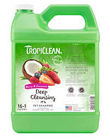 """Tropiclean Berry & Coconut Pet Shampoo - шампунь """"Ягідний з кокосом"""" для собак і котів 3,8 л (060104)"""