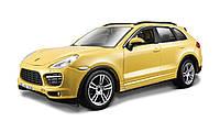 Автомодель (1:24) BburagoStar PORSCHE CAYENNE TURBO g18-21056 (ассорти белый,желтый,1:24), фото 1