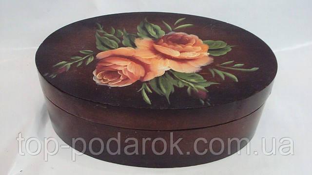 Шкатулка для украшений Цветы