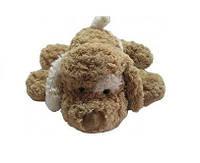 Мягкая игрушка Grand 3201GCC СОБАКА (коричневая,белое ухо,32см)