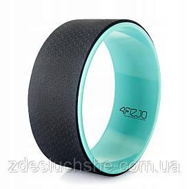 Колесо для йоги и фитнеса 4FIZJO Yoga Wheel 4FJ1448 Green SKL41-227601