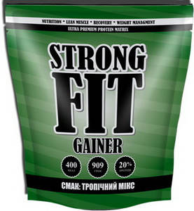 Гейнер Strong Fit Gainer 20 - 909 г, фото 2