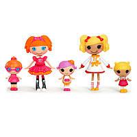 "Набор с куклами MINI Lalaloopsy 531715 серии  ""Веселая компашка"" - ПЕРВОКЛАШКИ (5 кукол)"