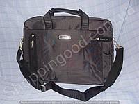"Сумка для ноутбука 17"" Cantlor Ctr Bags 980038 серый текстиль"