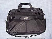 """Сумка для ноутбука 17"""" Gorangd 1606 черный текстиль"""
