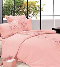 Комплект постельного белья евро Le Vele, Visaya, сатин вышивка