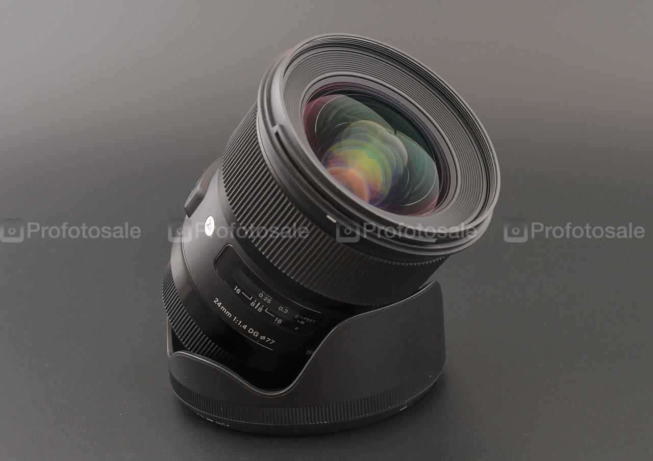 Об'єктив Sigma 24mm f/1.4 ART Canon