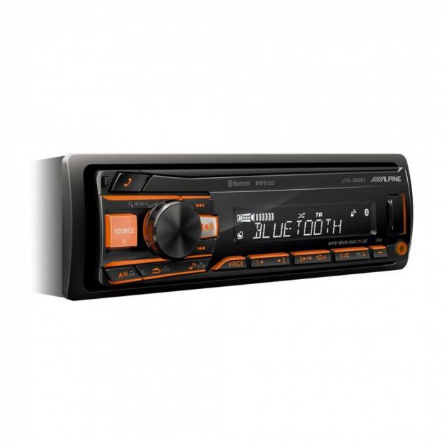Магнитола Alpine UTE-200BT (без диска)