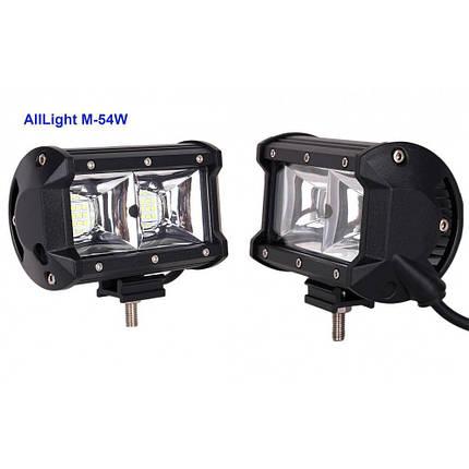 Світлодіодна фара AllLight M-54W 3030 близький 9-30V, фото 2