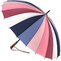 Жіночий парасольку тростину Три Слона 24 спиці ( механіка ) арт.L2240-1
