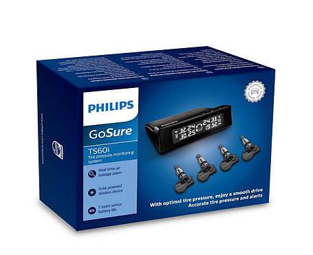 Система контроля давления и t-ры в шинах Philips TS60i GoSure TPMS, фото 2