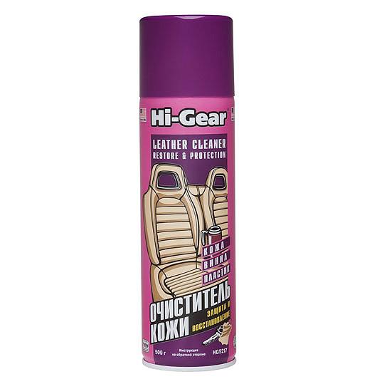 Очиститель-кондиционер для кожи Hi Gear 5217 аэрозоль 496 г