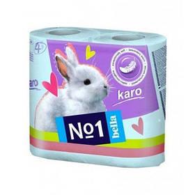 Туалетний папір Karo, 4 рул. Бірюзова A0147B
