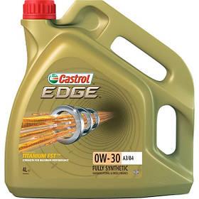 Олива моторна Castrol Edge 0W-30 A3/B4 Diezel, Turbodiezel, Benzin 4 л