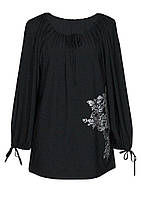 Туника женская нарядная больших размеров, фото 1