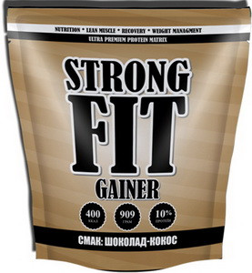 Гейнер Strong Fit Gainer 10 - 909 г