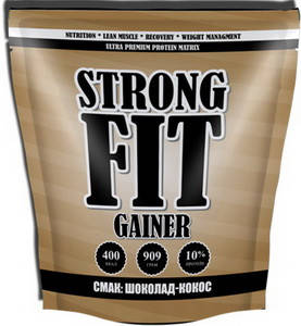 Гейнер Strong Fit Gainer 10 - 909 г, фото 2