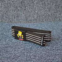 Ремінь Supreme Bart Simpson black white 110см, фото 1