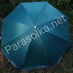 Пляжний зонт темно зелений 2 метри