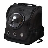 Рюкзак-переноска для кошек с иллюминатором Little Beast Star XN11-5001 Черный
