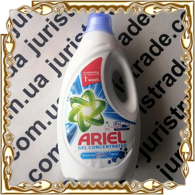 Гель для прання Ariel Gel Concentrated Lenor 121 прання 6.05 л. (Original)