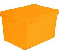 Ящик для хранения Deco's Colors 23л оранжевый