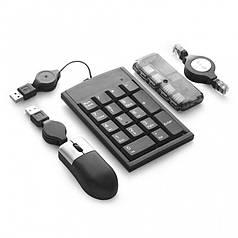 Набор USB-аксессуаров для компьютера, Черный