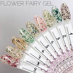 Квітковий гель Saga 09 Flower Fairy Gel