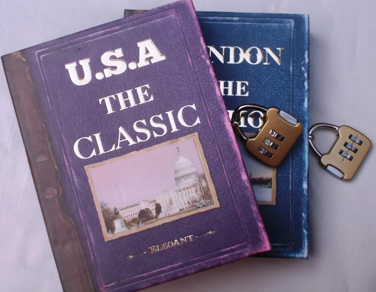 """Блокнот в коробці на кодовому замку """"The classic"""""""