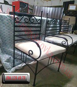 Кованый диван и кованые кресла 2