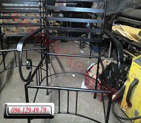 Кованый диван и кованые кресла 4