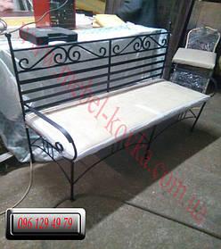 Кованый диван и кованые кресла 1