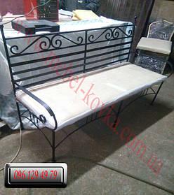 Кованый диван и кованые кресла 5
