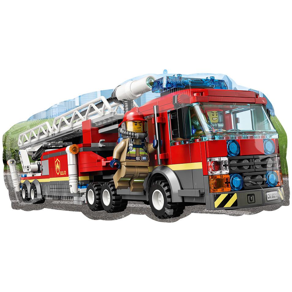 Фигура ANAGRAM-АН Лего пожарная машина (УП)