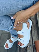 Жіночі спортивні босоніжки на липучках 11157 (ЯМ), фото 3