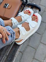 Жіночі спортивні босоніжки на липучках 11157 (ЯМ), фото 2