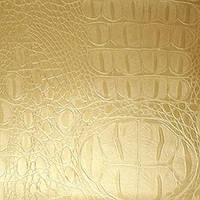 Золотая пленка 3d под кожу крокодила (1,52 метра)