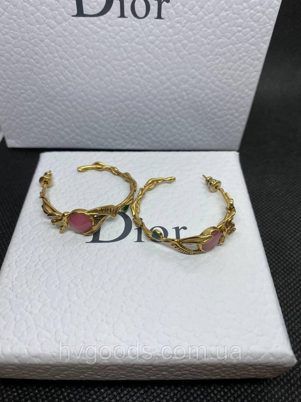 Серьги Christian Dior