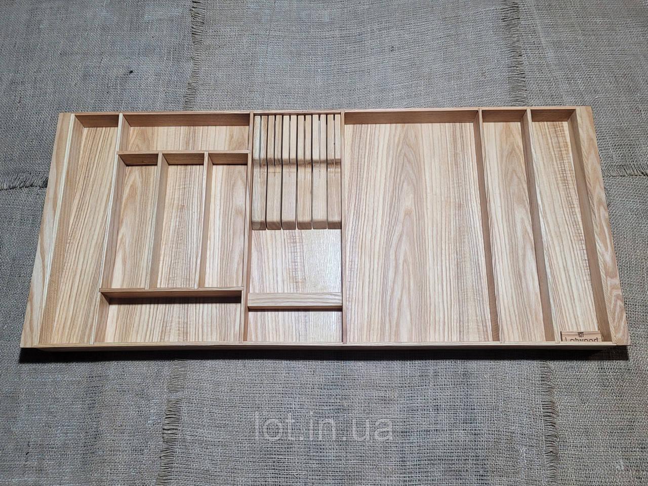 Лоток для столовых приборов P960-1050.450 ясень