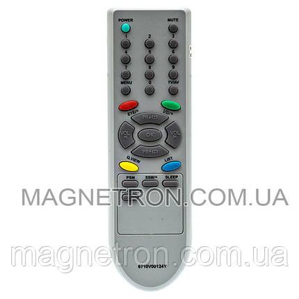 Пульт ДУ для телевизора LG 6710V00124Y-1 (не оригинал), фото 2