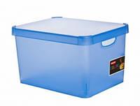 Ящик для хранения Deco's Colors 23л синий